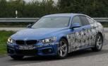 BMW 4 Series Gran Coupe Spied with M Sport Package