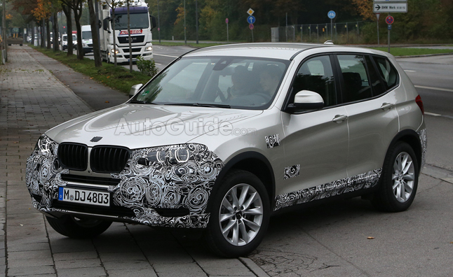 2015 BMW X3 Facelift Spied Testing in Germany