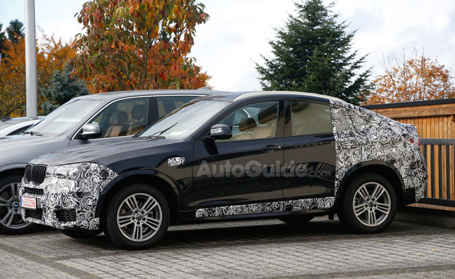 BMW X4 Sheds Some Camo in Spy Photos