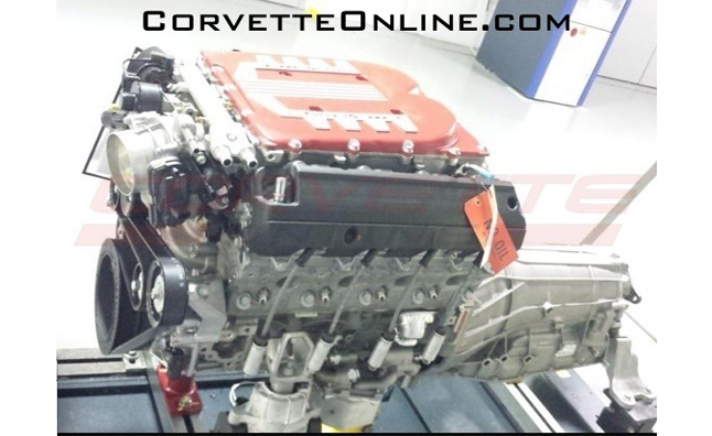 corvette engine leak Chevrolet Corvette ZO7 Engine Photo Leaked