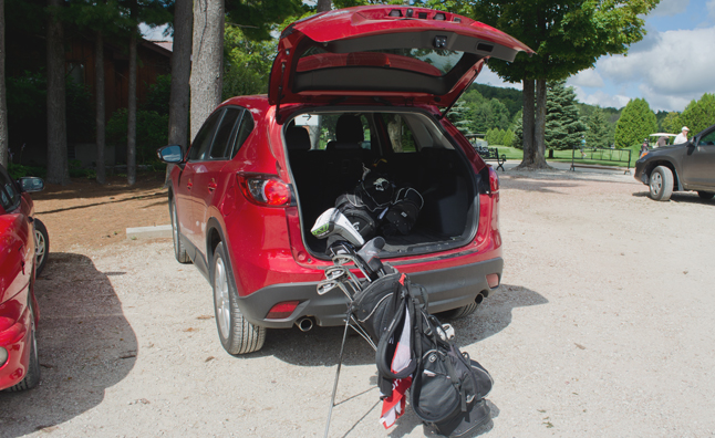 2014 Mazda CX-5 Long Term Update 4: Going Golfing
