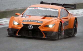 Lexus RC F GT500 Race Car Sounds Vicious  Video