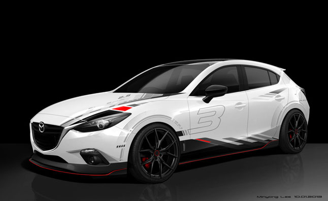 Mazda Teases SEMA-Bound Projects