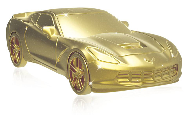 Corvette Stingray Featured in Monopoly Empire