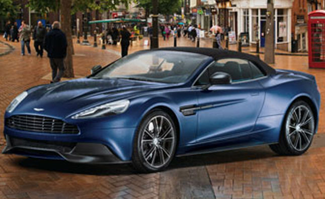 Aston Martin Vanquish Volante Makes 2013 Neiman Marcus Christmas Book