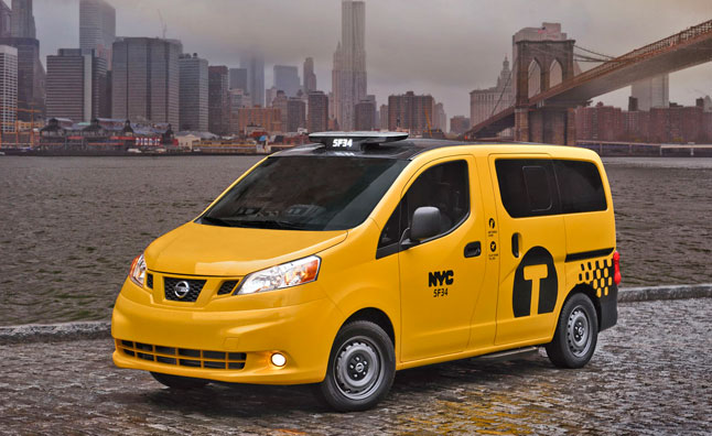 Nissan Taxi of Tomorrow Contract Rejected in Court