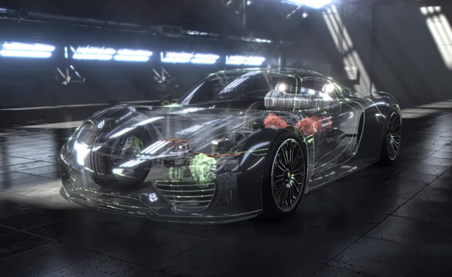 Porsche 918 Spyder Drive Detailed in Virtual Demo
