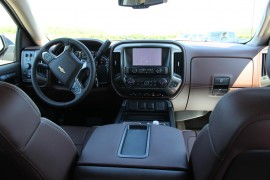 2014 chevy silverado interior