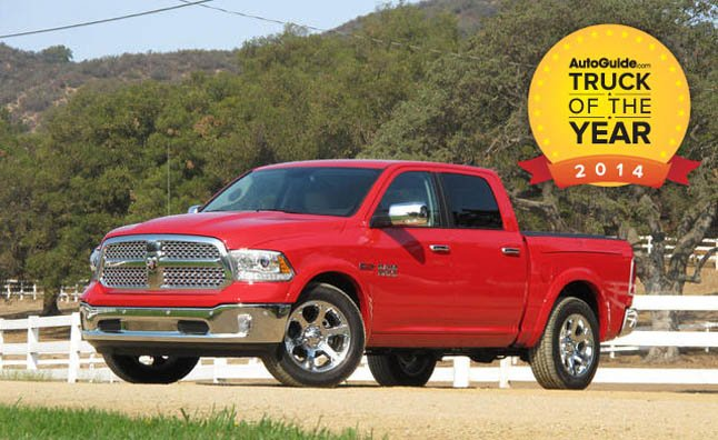 2014 Ram 1500 Named AutoGuide.com Truck of the Year