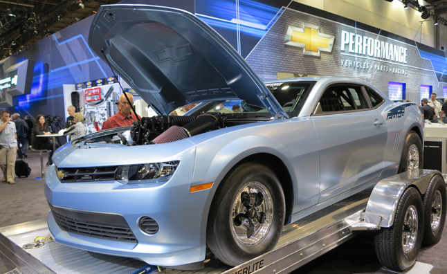 2014 COPO Camaro First Look Video: 2013 SEMA Show