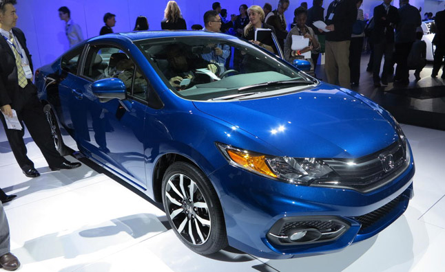 2014 Honda Civic Adds a CVT to Bump MPG