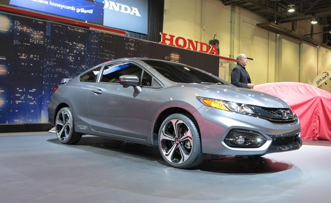 2014 Honda Civic Si Coupe Debuts at SEMA