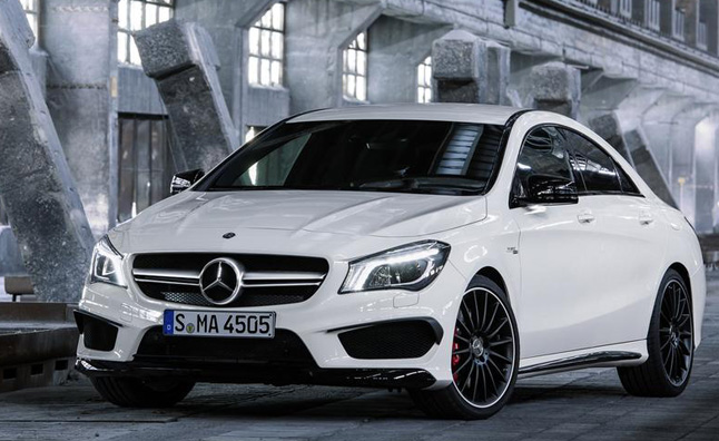 2014 Mercedes-Benz CLA 45 AMG Rated at 23/31 MPG