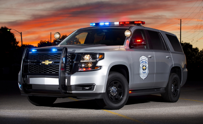 2015 Chevrolet Tahoe Police Patrol Vehicle: Coming to a Rear-View Mirror near You
