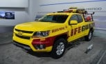 2015 Chevy Colorado Outfitted with Beach Gear for LA