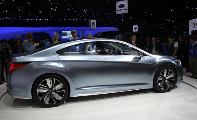 2015 Subaru Legacy Concept Video, First Look