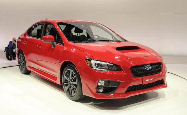 2015 Subaru WRX Video, First Look