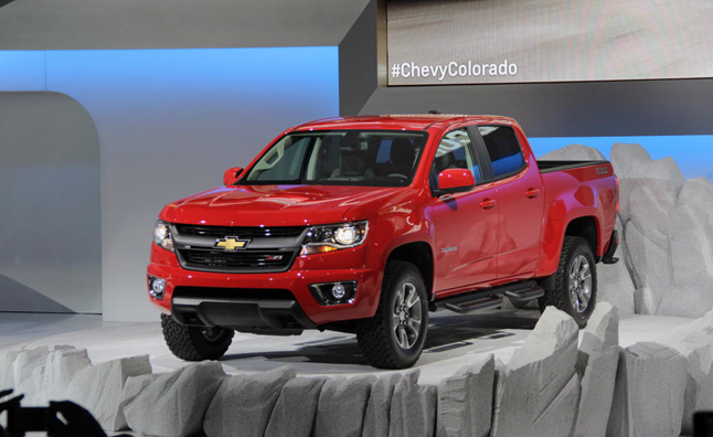 Chevy Colorado Off-Road Variant Under Consideration