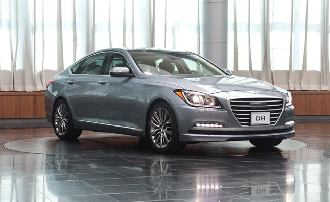 2015 Hyundai Genesis Revealed, Adds AWD
