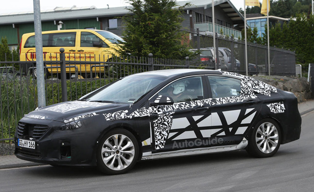 2015 Hyundai Sonata to Debut at 2014 NY Auto Show