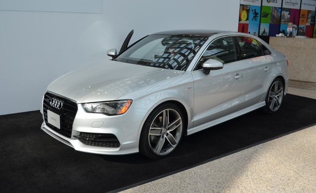 Audi Debuts 2015 A3 Sedan With 4G LTE at 2013 LA Auto Show