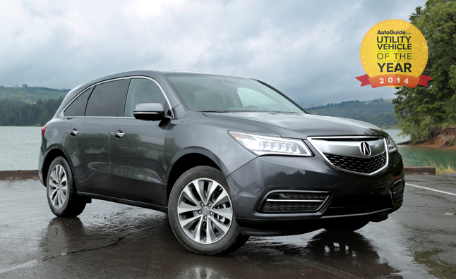2014 acura mdx utility vehicel of the year