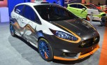 Custom Fiesta STs Bring Flare to Ford SEMA Booth