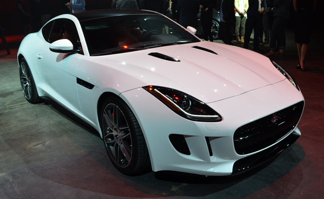 2014 Jaguar F-Type Coupe: First Look Video, 2013 LA Auto Show