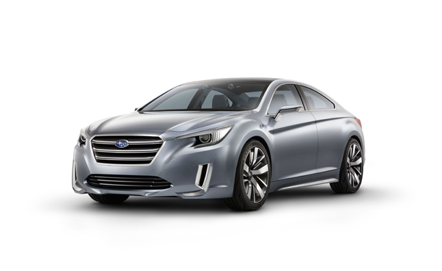 2015 Subaru Legacy Concept Revealed Before LA Debut