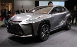 Lexus LF-NX Turbo Concept Previews Brand's Boosted Future