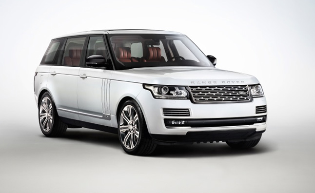 Range Rover Autobiography Black Features Finer Cabin