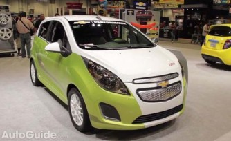 2013 Chevrolet Spark EV Tech Performance Concept, First Look Video: 2013 SEMA Show