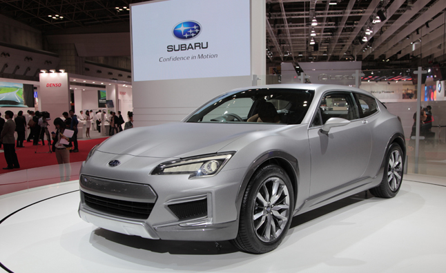Subaru Cross Sport Design Concept is a BRZ Station Wagon