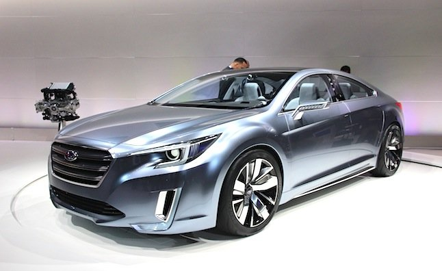 2015 Subaru Legacy Concept Shows Brand's New Design Language