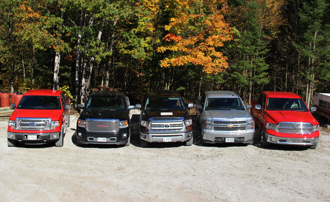 pickup truck fuel economy shootout