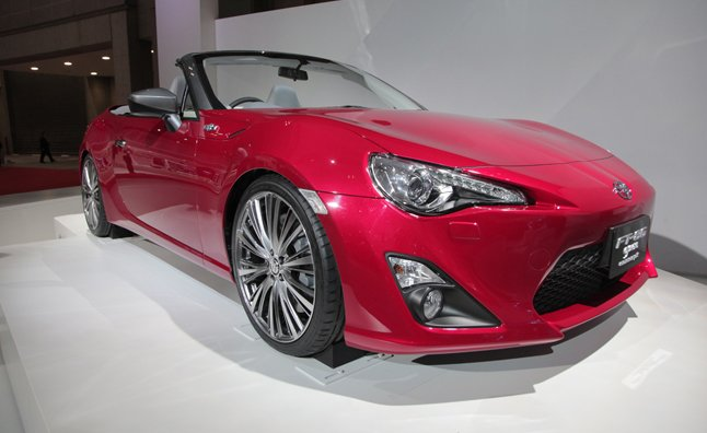 Toyota FT86 Previews a Scion FR-S Convertible… Again