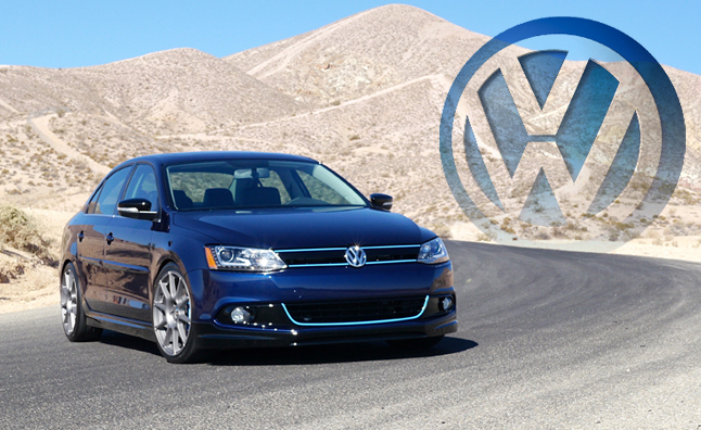 Volkswagen's 2013 SEMA Showcase: New Engines, Special Cars