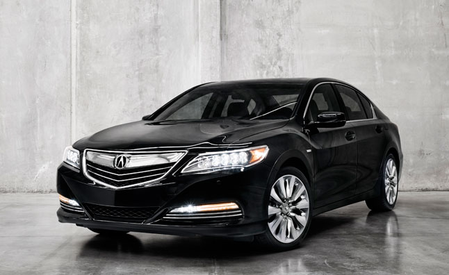 Acura RLX Sport Hybrid SH-AWD to Debut in LA