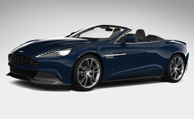 Aston Martin Vanquish Volante Neiman Marcus Edition Heading for LA Debut