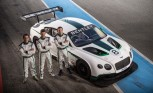 Bentley Continental GT3 Race Car Driver Lineup Announced