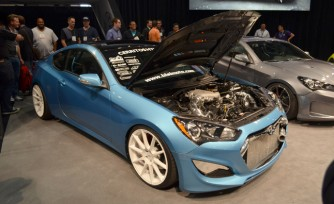 1,000-hp 2013 Hyundai Genesis Coupe First Look Video: 2013 SEMA Show