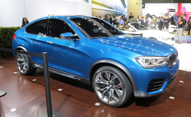 BMW Concept X4 Lands in Los Angeles