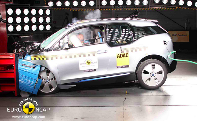 BMW i3 Scores Four-Star Rating in European Crash Tests