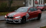 BMW M4 Spied in Sakhir Orange Paint