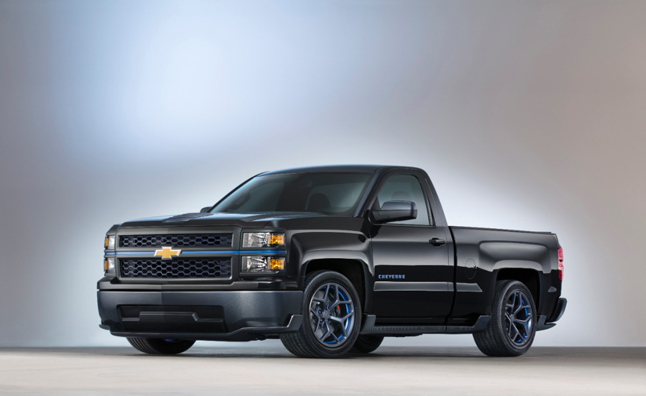 Chevy Silverado Cheyenne Concept is the Z/28 of Pickups
