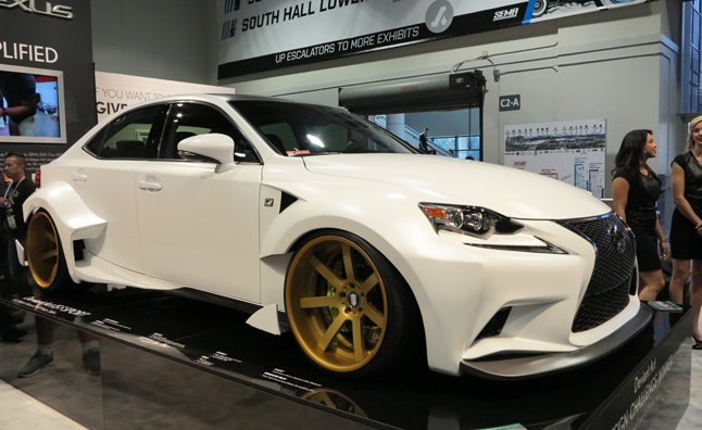 Fan-Designed 2014 Lexus IS 350 is One Crazy SEMA Project