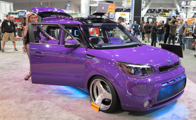 Kia Shows its Soul with Music-Themed SEMA Projects