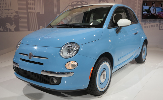 Fiat 500 '1957 Edition' Goes Retro in Los Angeles