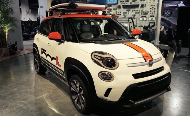 Fiat 500L Concepts Go for Wet and Wild at SEMA