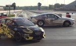 Watch a Ford Mustang Cobra Jet Race a GRC Fiesta ST